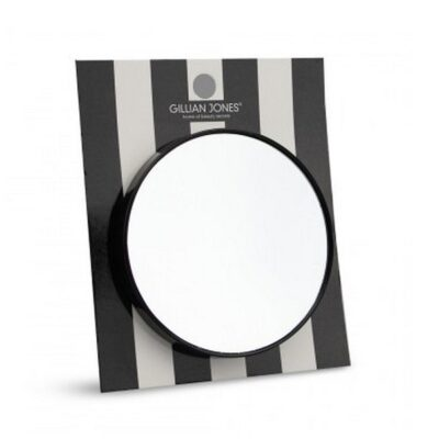 CIMI Gillian Jones - GJ Black Suction Mirror - Sort rejsespejl med sugekop fra CIMI Beauty Bags