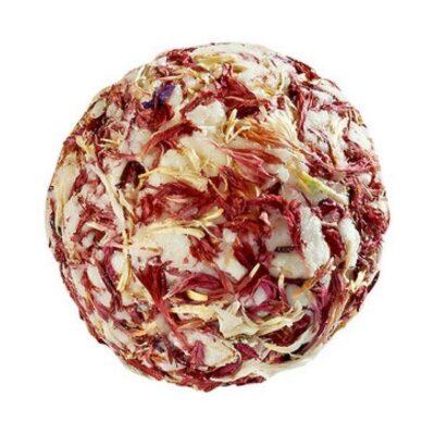 Ecoworld Bademeisterei - Badebombe - Vegan Bio - Strawberry Fig fra Ecoworld Bademeisterei