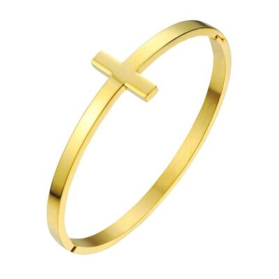 Everneed - Boa armring - Guld fra Everneed