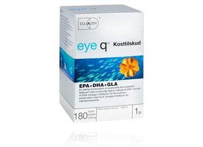 Eye Q - Kosttilskud Fiskeolie - 180 Kapsler fra Eye Q