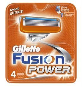 Gillette - Fusion Power - Barberblade 4-pak fra Gillette