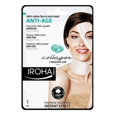 Iroha - Anti Age Mask- Face & Neck Collagen fra Iroha Nature