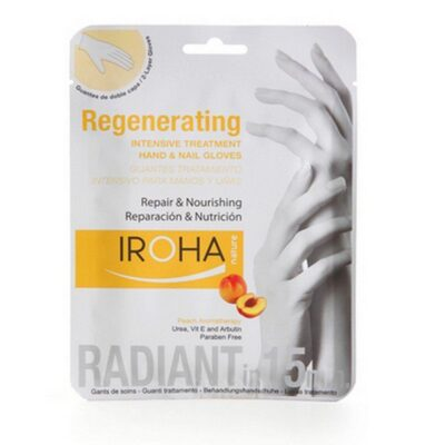 Iroha - Hand Mask Regenerating - Peach fra Iroha Nature