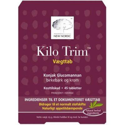KiloTrim - Kosttilskud - 45 Tabletter fra Kosttilskud