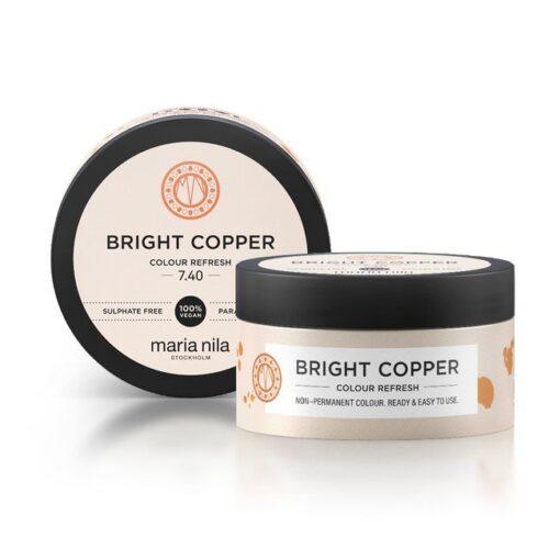 Maria Nila - Colour Refresh 7.40 Bright Copper - 100 ml fra Maria Nila
