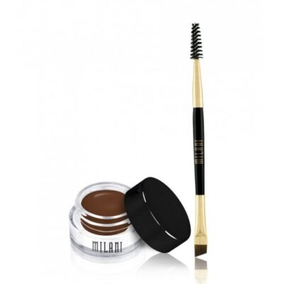 Milani Cosmetics - Stay Put Brow Colour - Brunette fra Milani Cosmetics