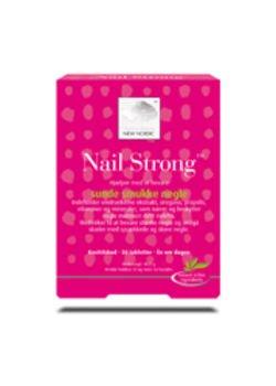 Nail Strong - Stærke Negle - 30 Tabletter fra Kosttilskud