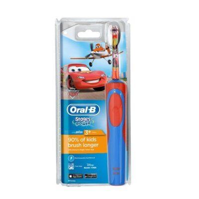 Oral B - Stages Power Kids - Planes - Batteri Tandbørste - Powered by Braun fra Oral B