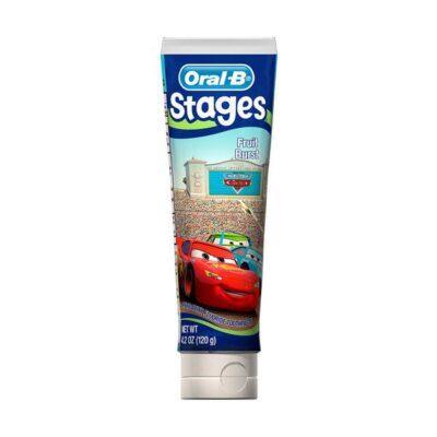 Oral B - Stages - Tandpasta til børn - Cars - 75 ml fra Oral B