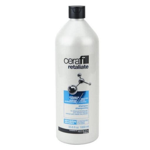 Redken - Cerafill Retaliate Shampoo - 1000 ml - Salon Size fra Redken