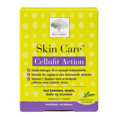 SkinCare - Cellufit Action - 60 Tabletter fra Kosttilskud