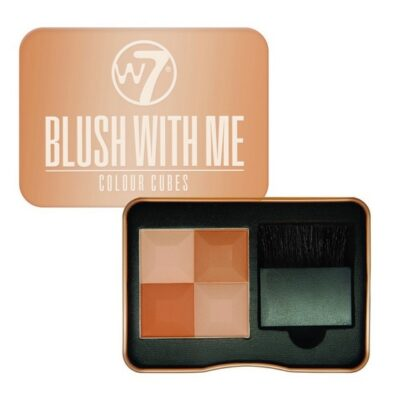 W7 - Blush With Me Colour Cubes - Cassie Mac fra W7 Cosmetics