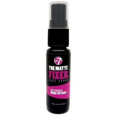 W7 - The Matte Fixer Face Spray - Makeup Setting Spray - 18 ml fra W7 Cosmetics