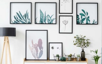 Få en flot væg med flotte plakater